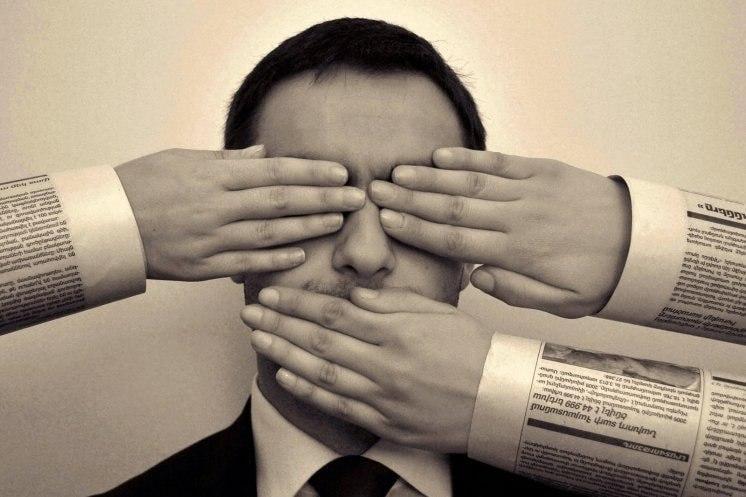 Закон о медиа, который полностью воспроизводит гитлеровский закон о прессе, может стать основанием для применения к Украине международных санкций