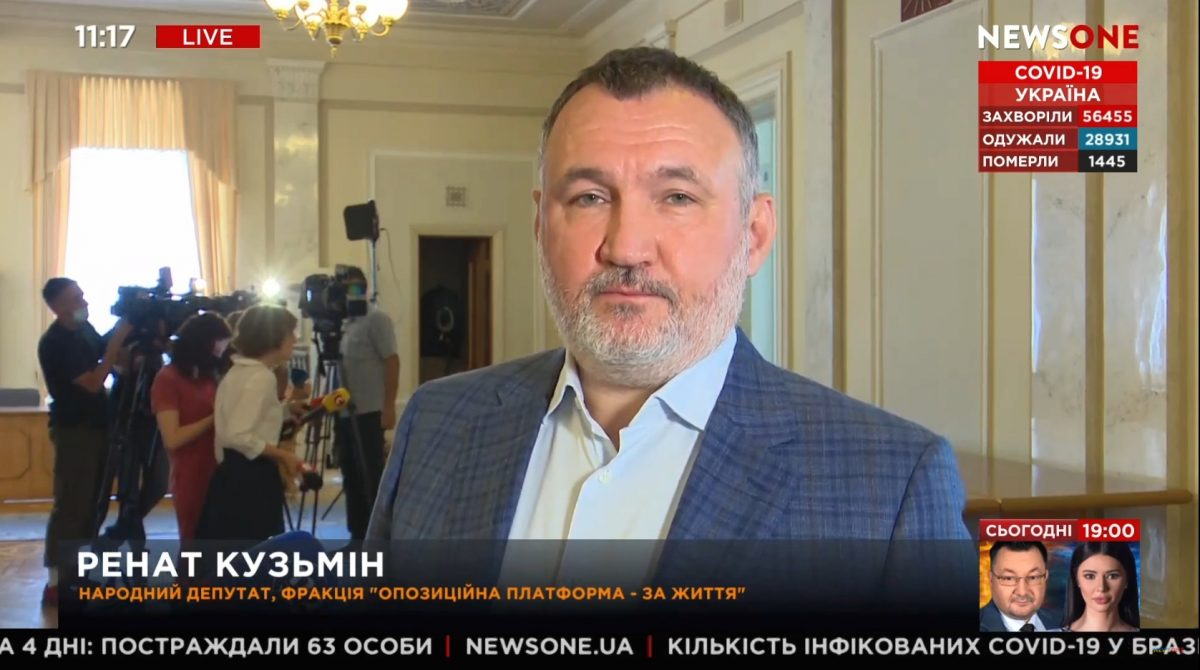 Фактически защитником украинского народа является не Зеленский, а Медведчук