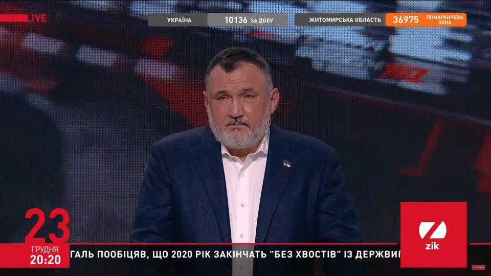 Вся наша антикоррупционная вертикаль — механизм внешнего управления Украиной