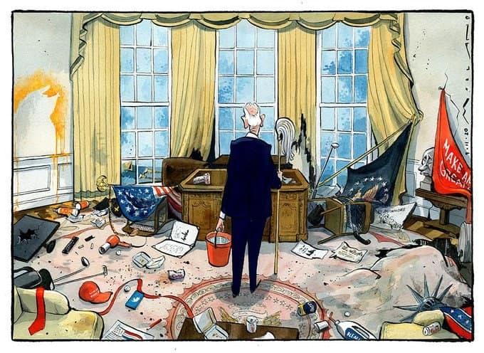 С недореволюцией в США все ясно: деньги решили исход дела.