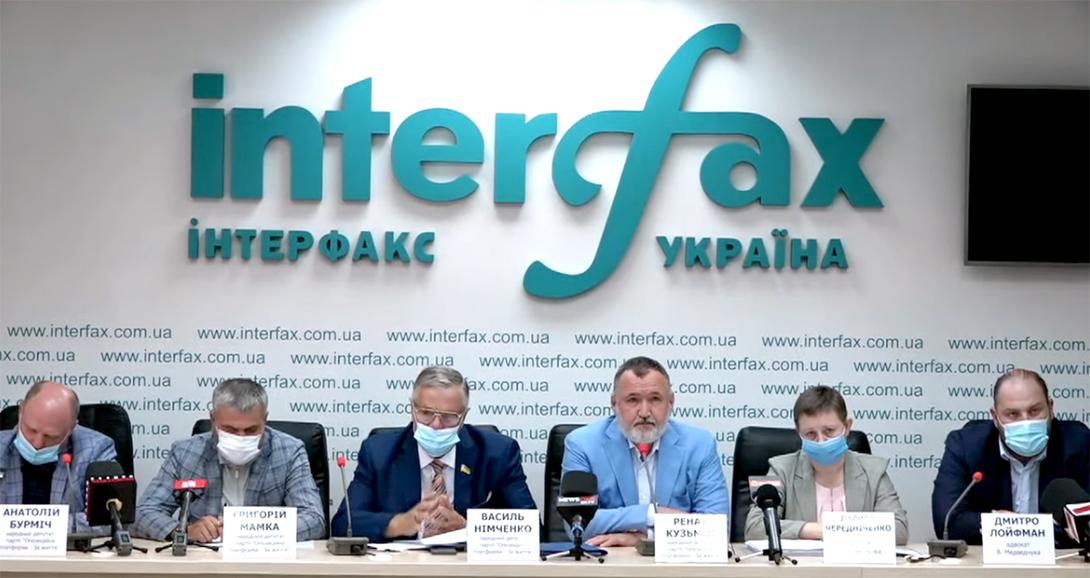 Ренат Кузьмин: Преследуя Медведчука, власть пытается отобрать у всей Украины шанс свернуть с пути разрушения на путь становления и развития
